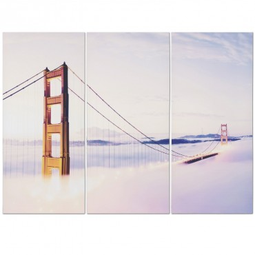 Golden Gate Triptych Canvas