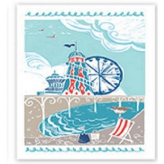 Rides And Tides Canvas Wall Art