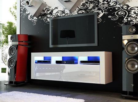 gloss modern tv unit