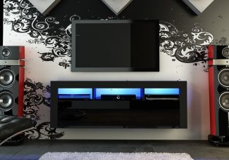 tv cabinet led lights