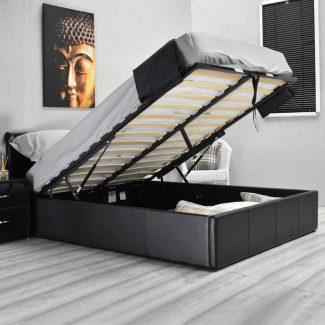 black bed 1